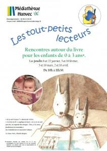 Affiche bébés lecteurs 2015 - 1