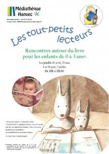 Affiche bébés lecteurs 2015 - 2